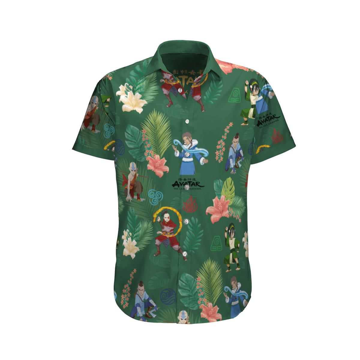 Earth Kingdom Avatar Hawaiian shirt 2