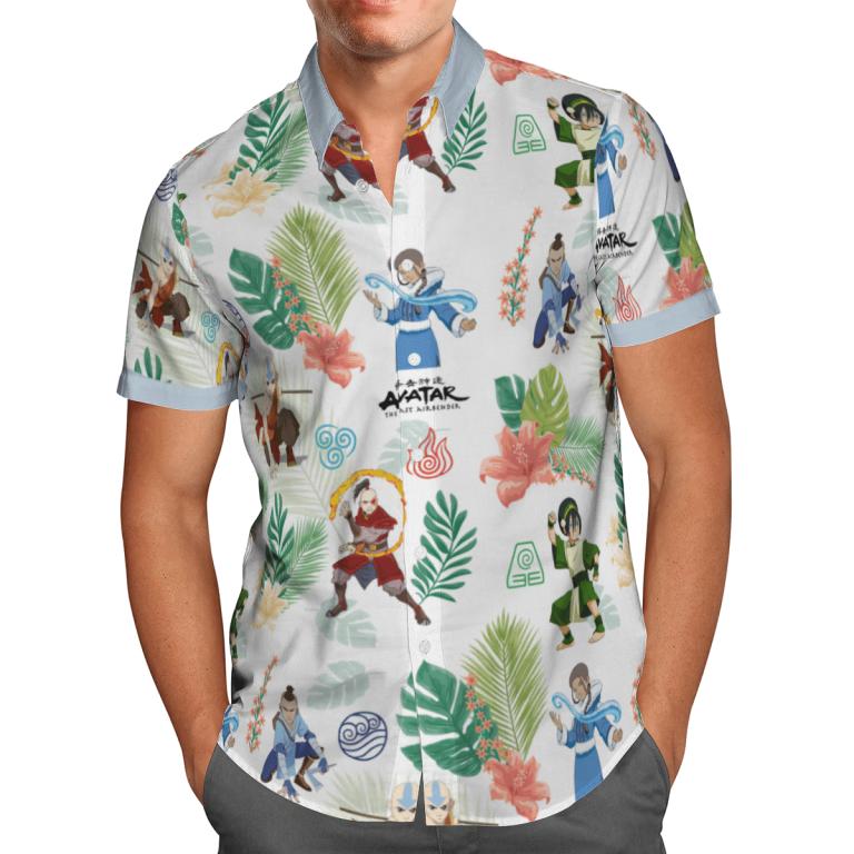 Earth Kingdom Avatar Hawaiian shirt 3