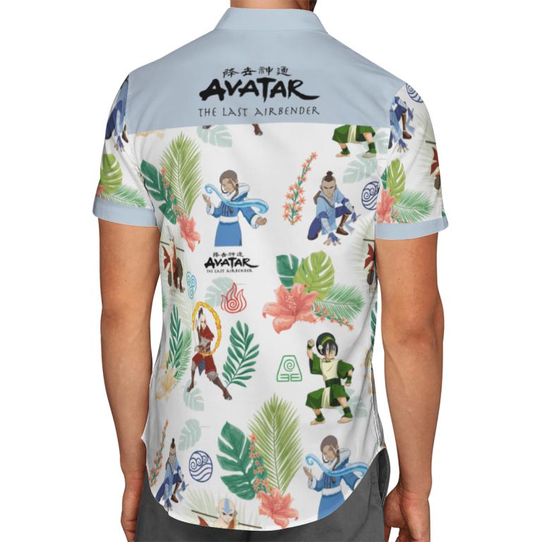 Earth Kingdom Avatar Hawaiian shirt 4
