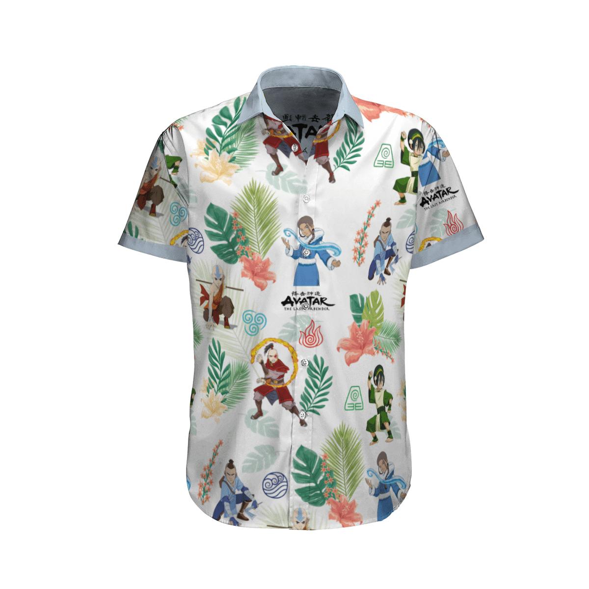 Earth Kingdom Avatar Hawaiian shirt 5