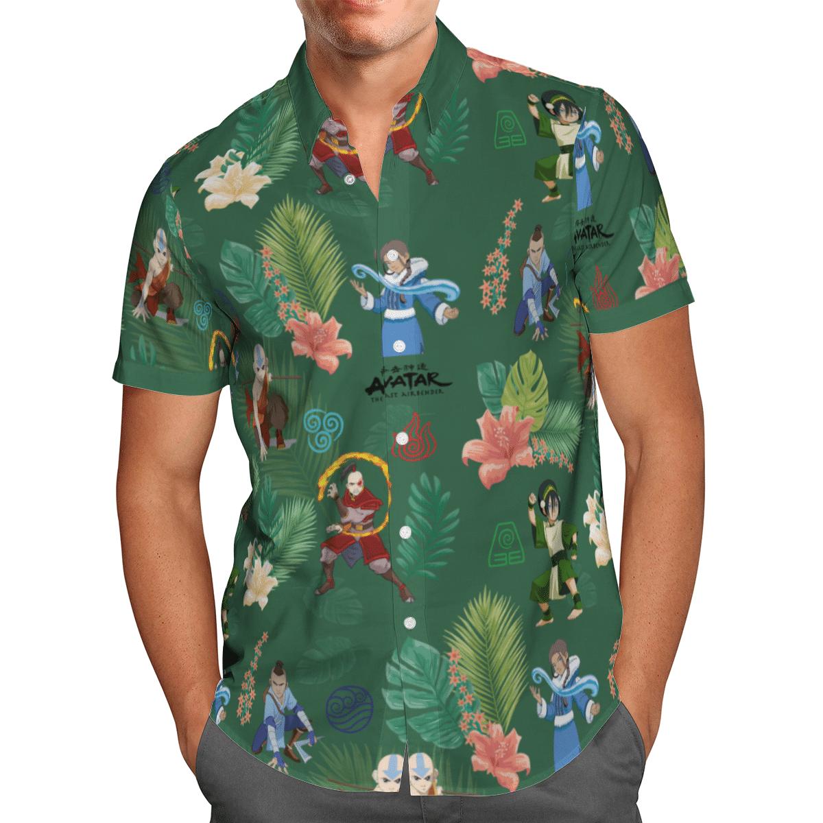 Earth Kingdom Avatar Hawaiian shirt