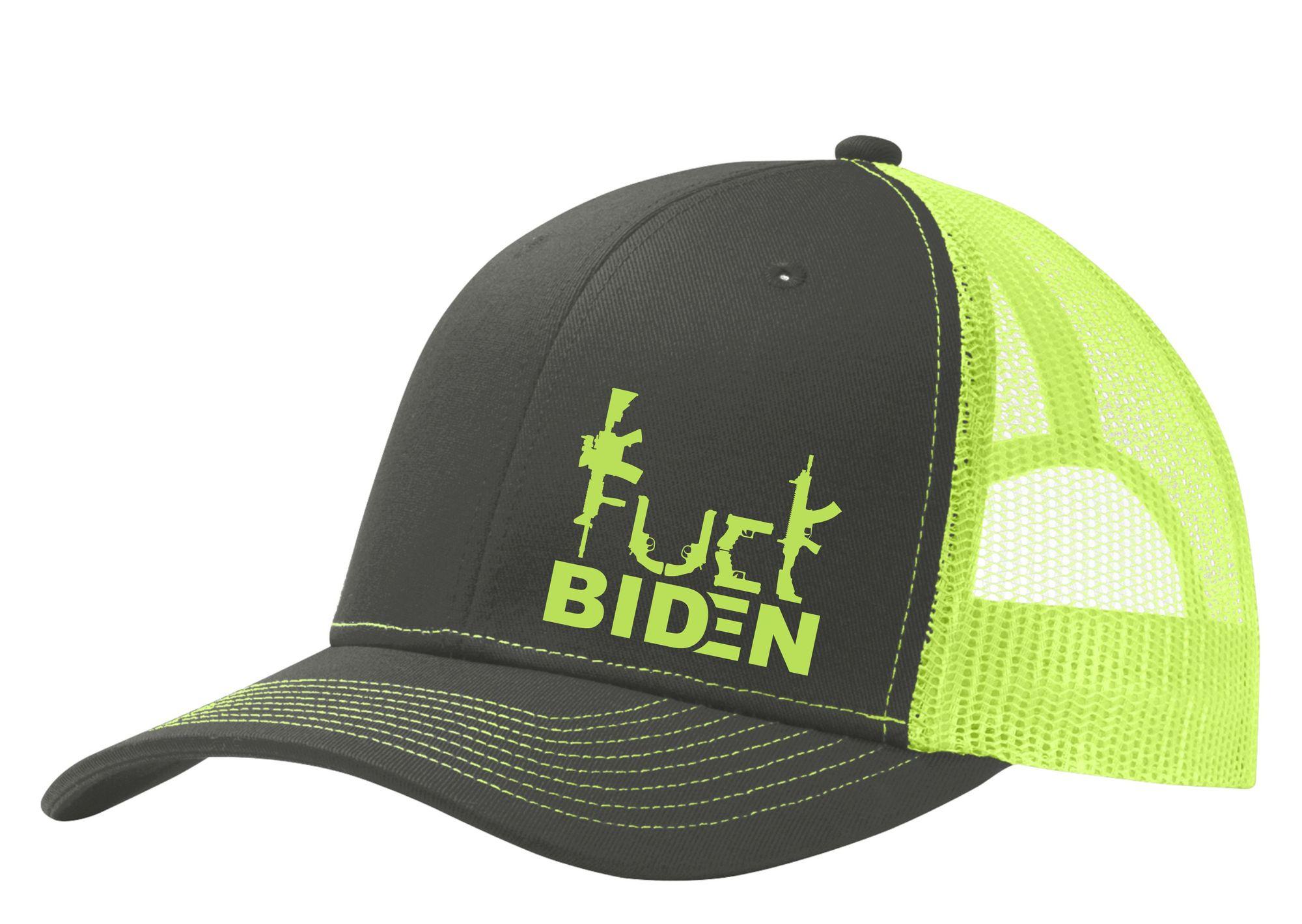 Guns Fuck Biden trucker cap 1