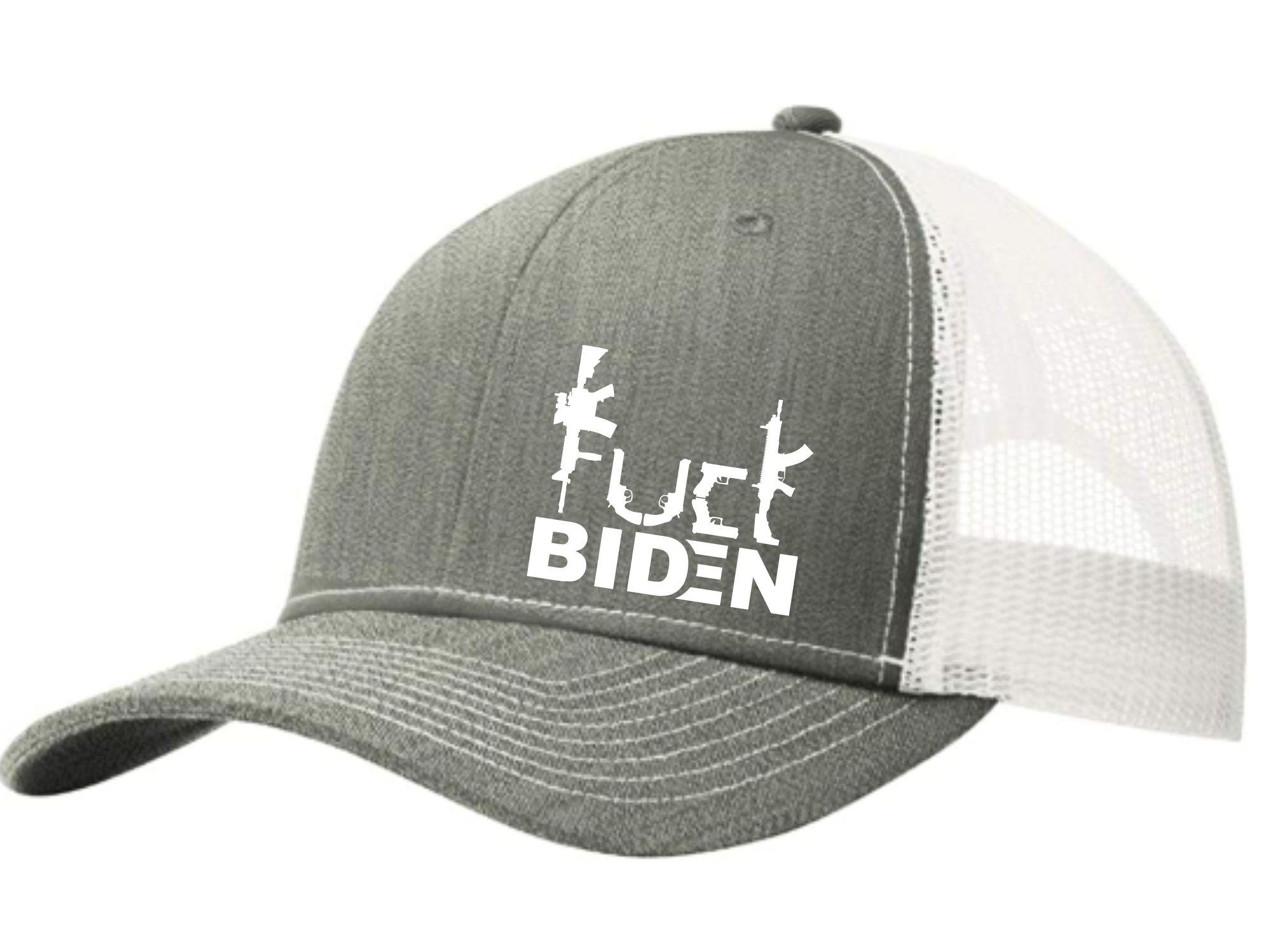 Guns Fuck Biden trucker cap 3