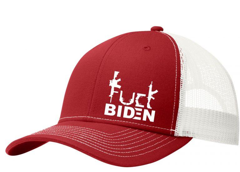 Guns Fuck Biden trucker cap 5