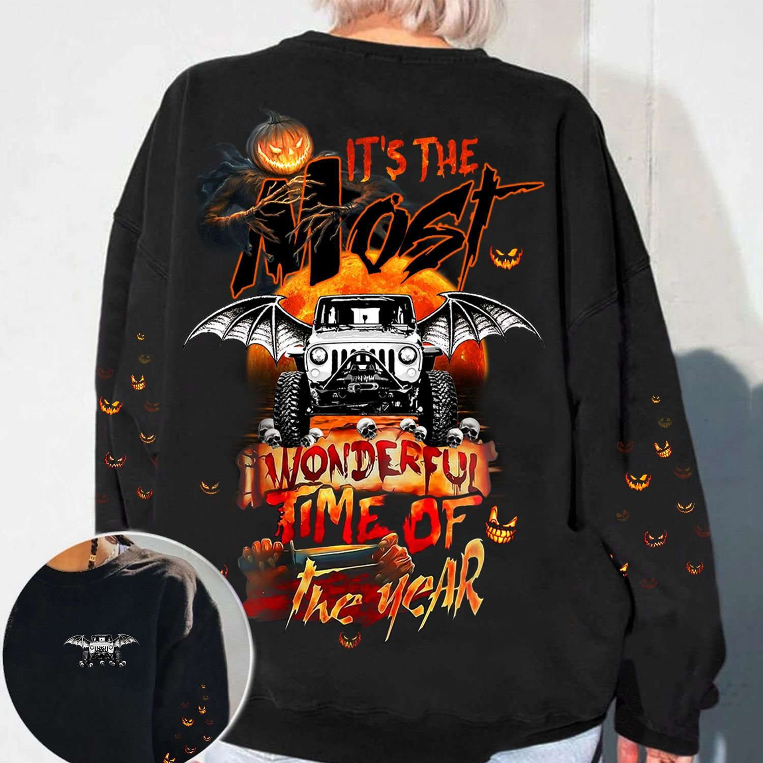 Halloween its the most wonderful time of the year 3d shirt 1