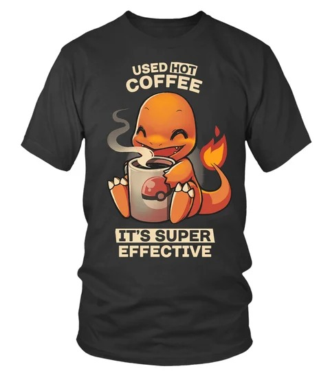 Hitokage used hot coffee its supper effective 3d hoodie and shirt 1