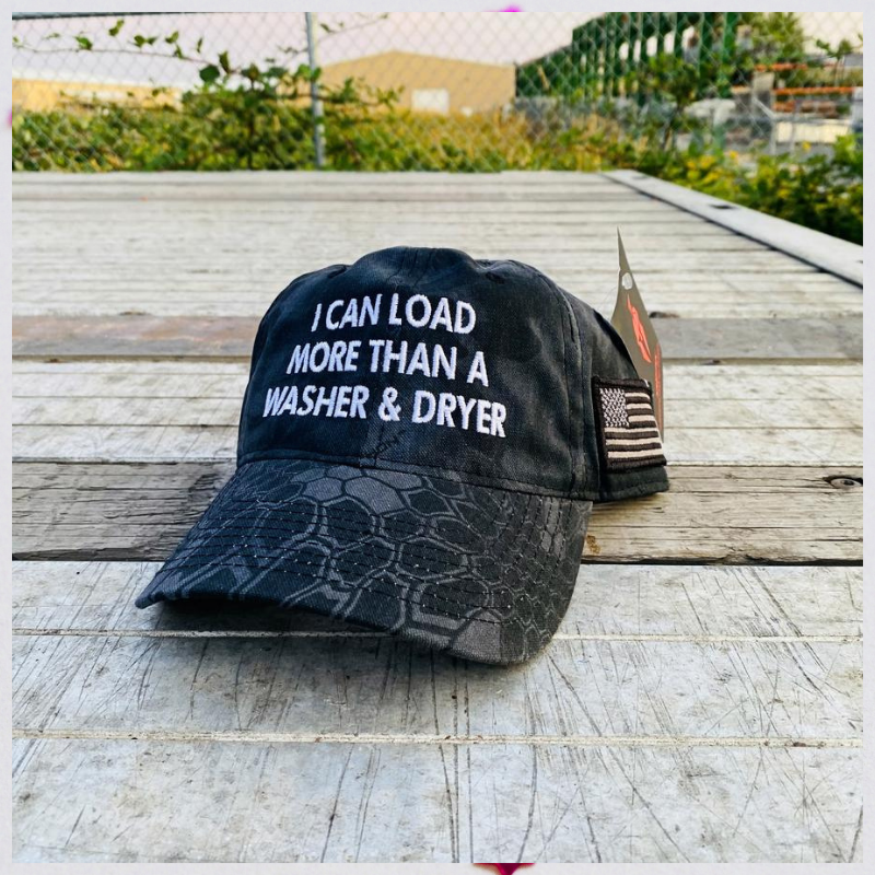 I Can Load More Than A Washer and Dryer cap hat 1