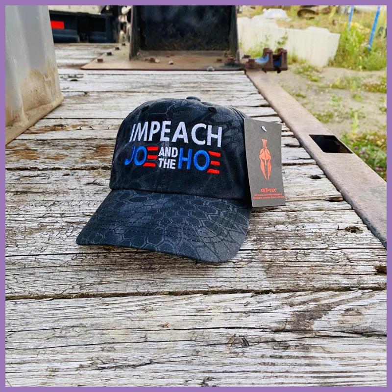 Impeach Joe And The Hoe cap hat 1