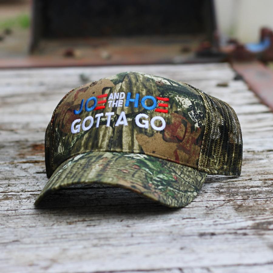 Joe and The Hoe gotta go mossy oak camo hat cap 1