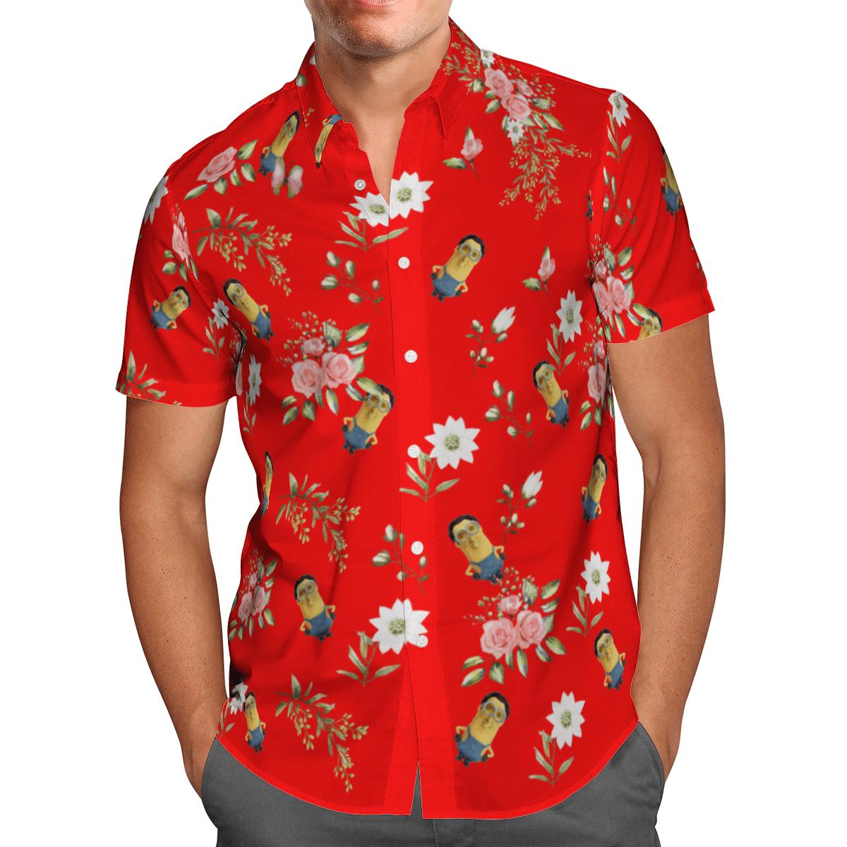 Minions cage Hawaiian shirt 1