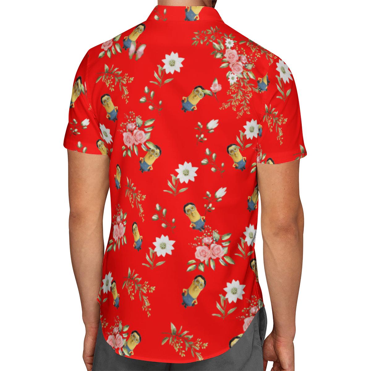Minions cage Hawaiian shirt 2