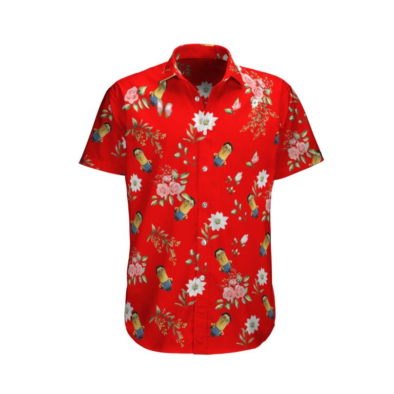 Minions cage Hawaiian shirt