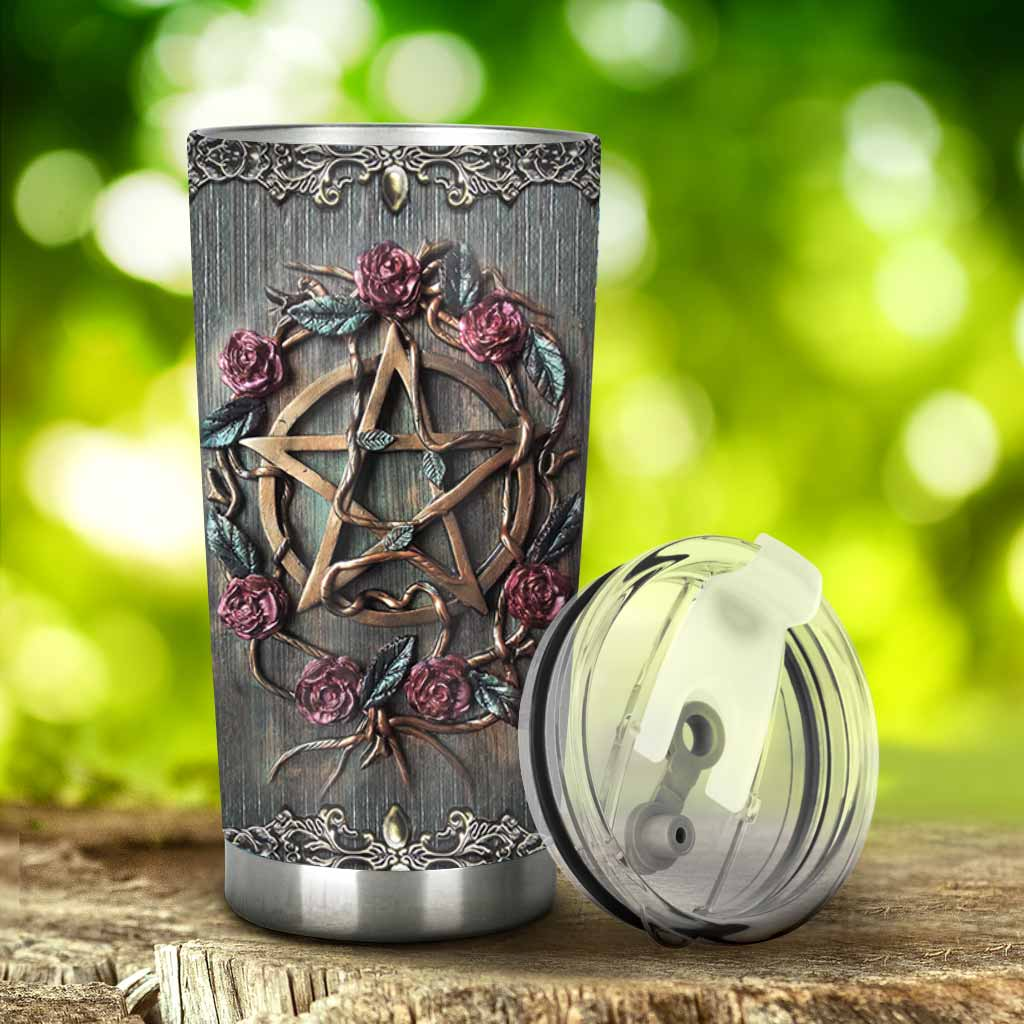 Mystical Witch 3D Printed Tumbler 1