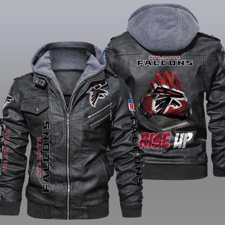 NFL Atlanta Falcons leather jacket 1