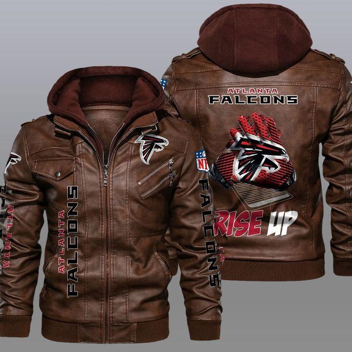 NFL Atlanta Falcons leather jacket 2
