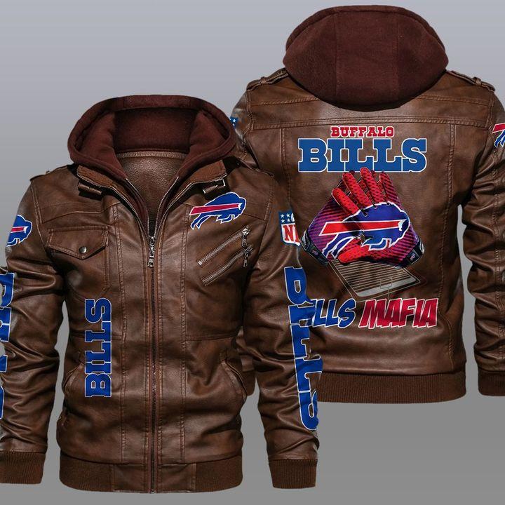NFL Buffalo Bills leather jacket 2