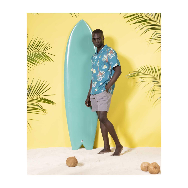 Pokemon tropical alolan exeggutor friends hawaiian shirt 2
