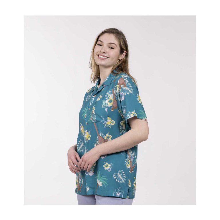 Pokemon tropical alolan exeggutor friends hawaiian shirt 3