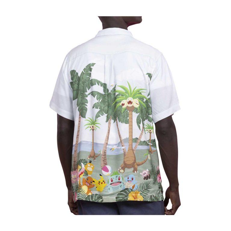 Pokemon tropical party hawaiian shirt 1