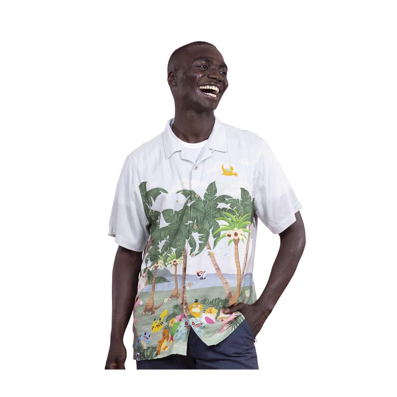 Pokemon tropical party hawaiian shirt 3