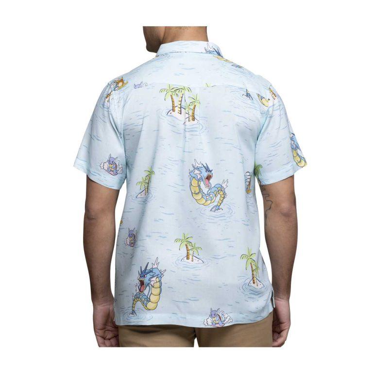 Pokemon tropical sea surfing hawaiian shirt 1