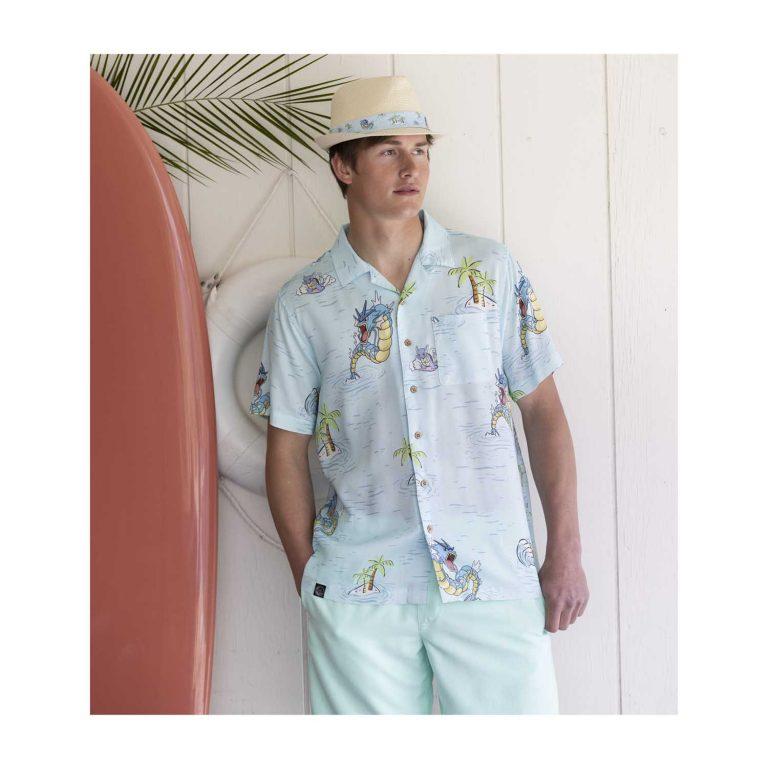 Pokemon tropical sea surfing hawaiian shirt 2