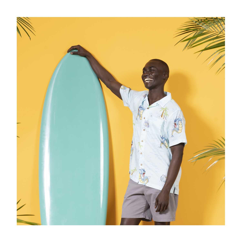 Pokemon tropical sea surfing hawaiian shirt 3