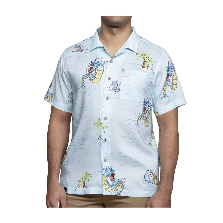 Pokemon tropical sea surfing hawaiian shirt