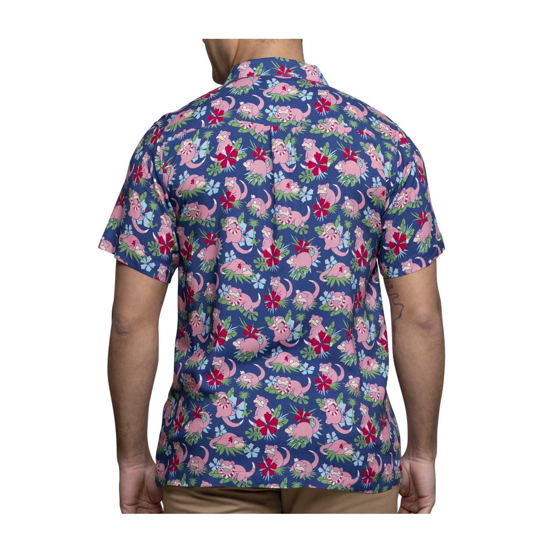 Pokemon tropical slowpoke hawaiian shirt 1