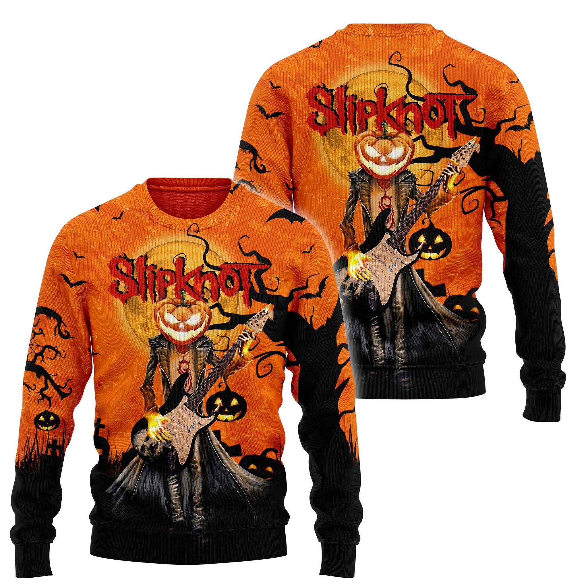 Slipknot Halloween 3d hoodie and shirt 1