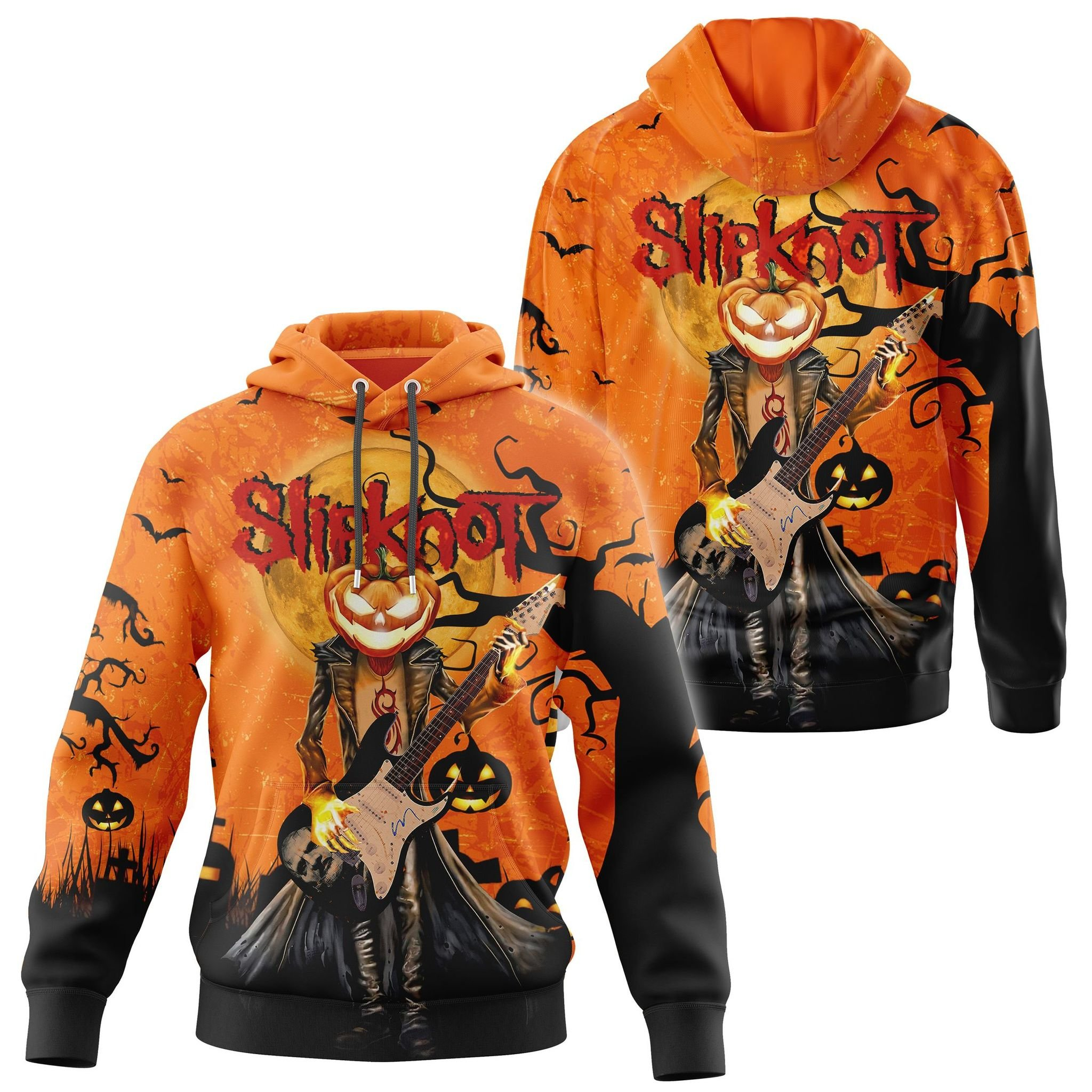 Slipknot Halloween 3d hoodie and shirt 2