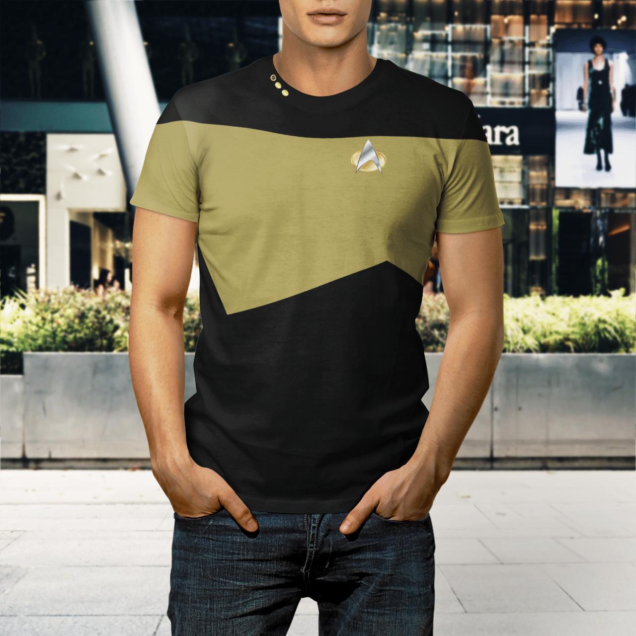Star Trek Chief engineer 3d shirt 1