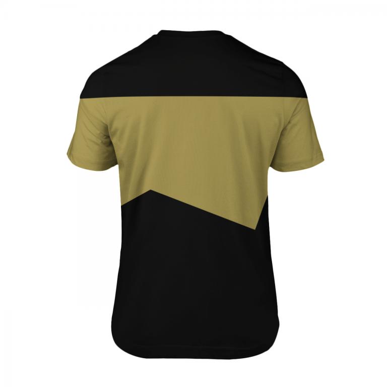 Star Trek Chief engineer 3d shirt 2