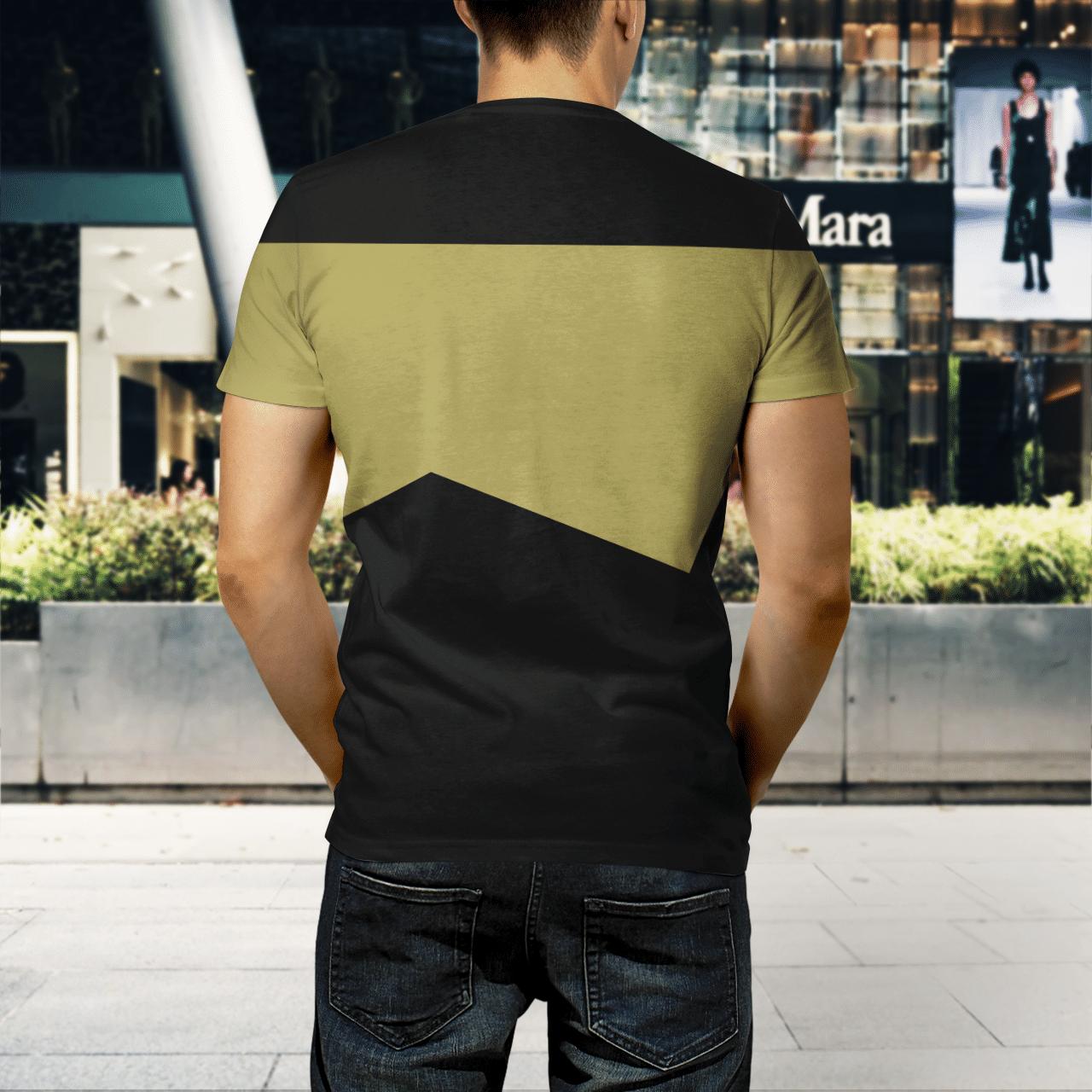 Star Trek Chief engineer 3d shirt 3
