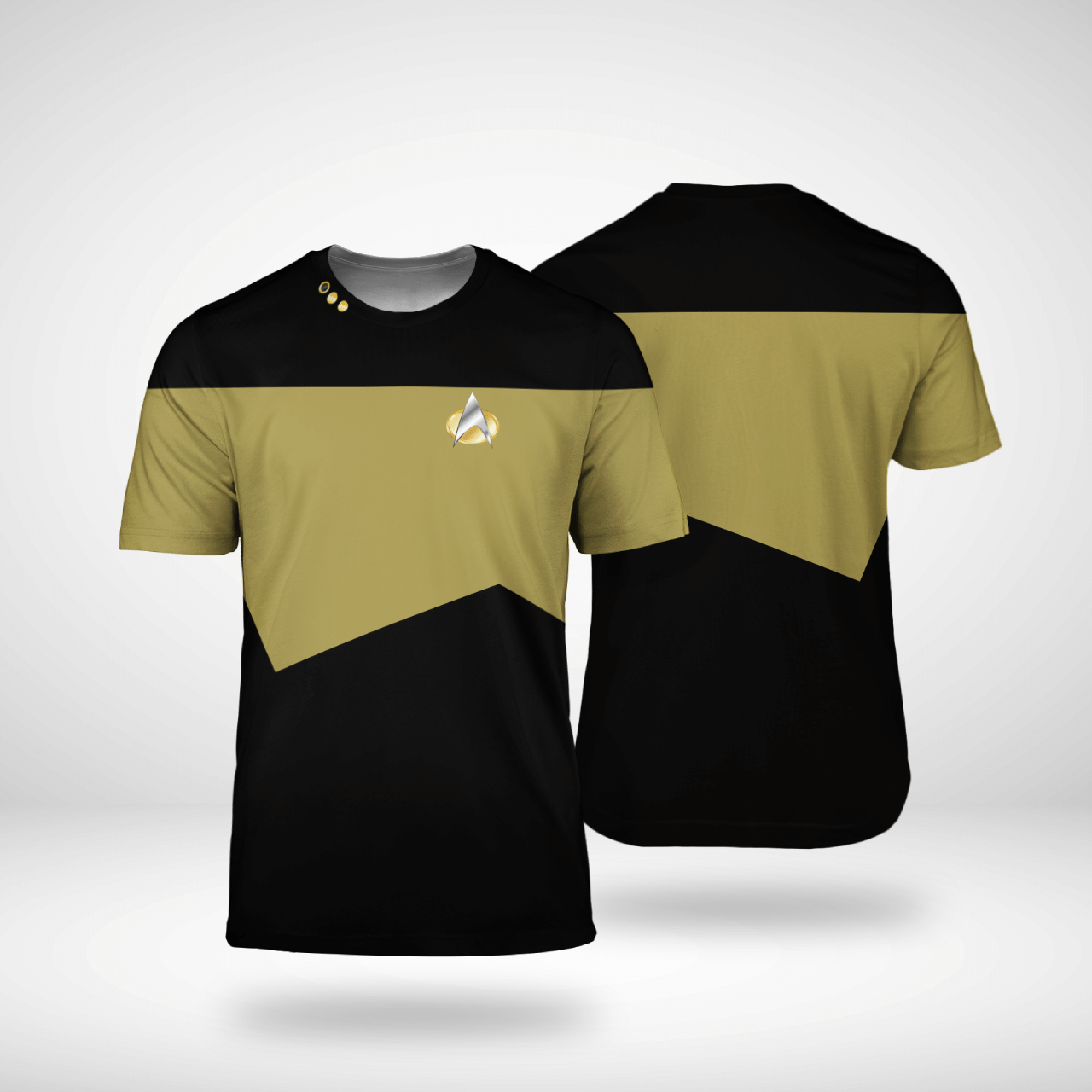 Star Trek Chief engineer 3d shirt