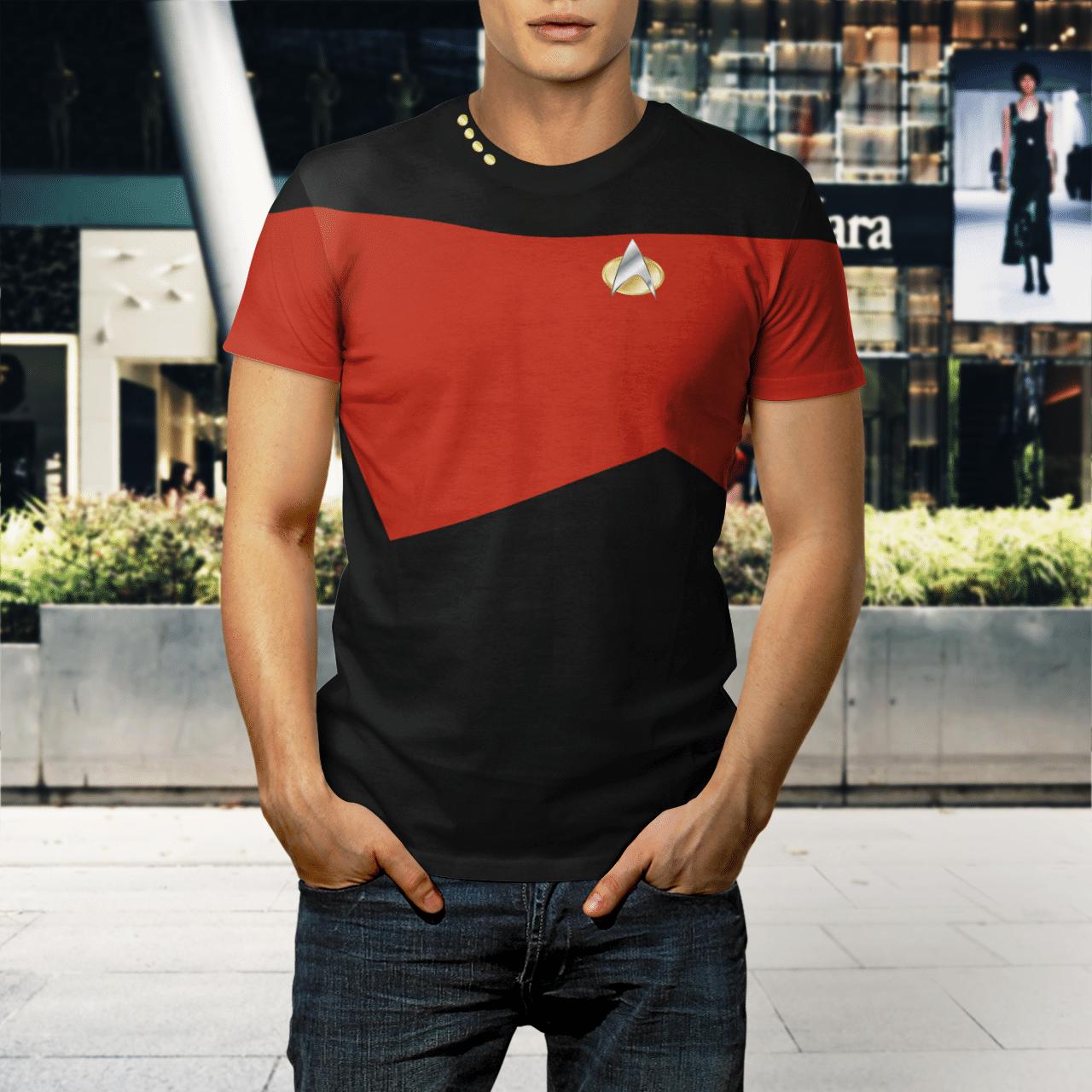 Star Trek captain 3d shirt 1.1