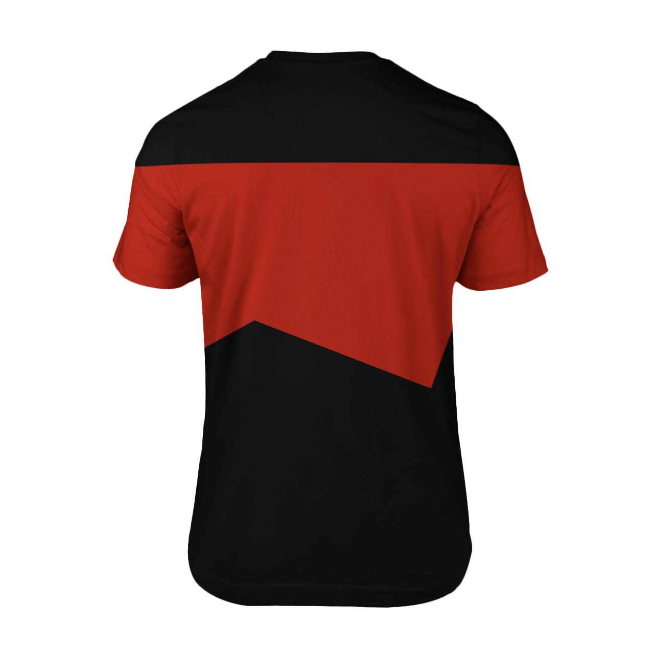 Star Trek captain 3d shirt 1.2