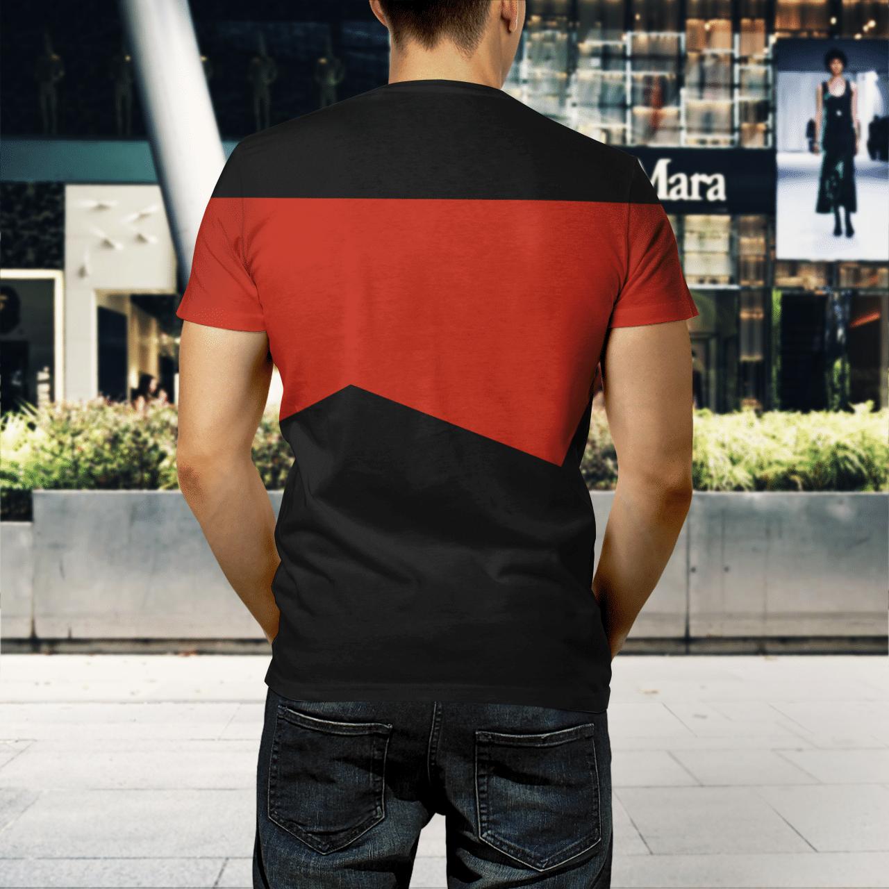 Star Trek captain 3d shirt 1.3