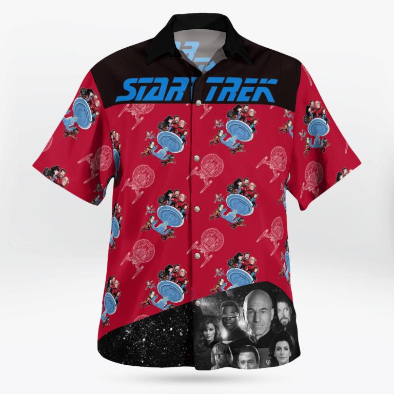 Star Trek command hawaiian shirt 2.1