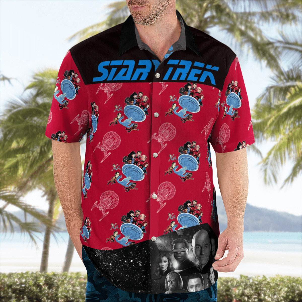 Star Trek command hawaiian shirt 2.2