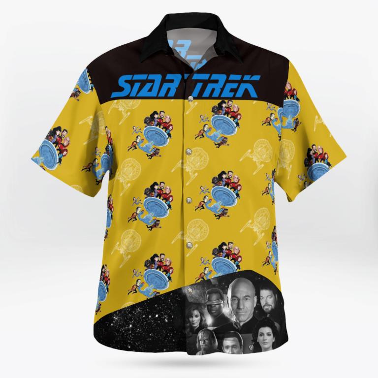 Star Trek operation hawaiian shirt 1.1