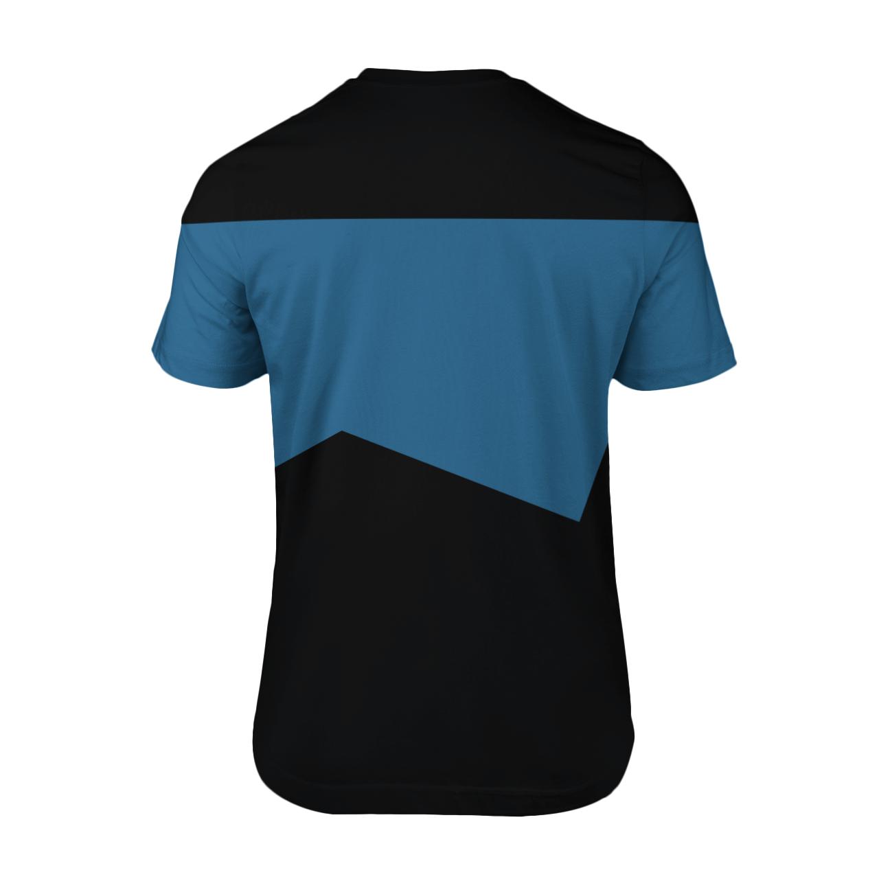 Star Trek science 3d shirt 2