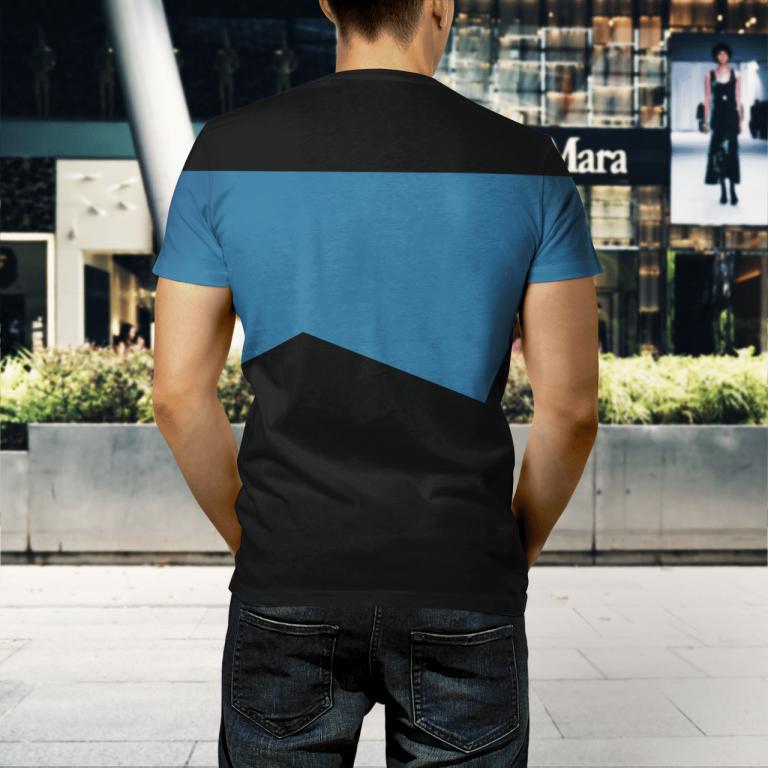 Star Trek science 3d shirt 3