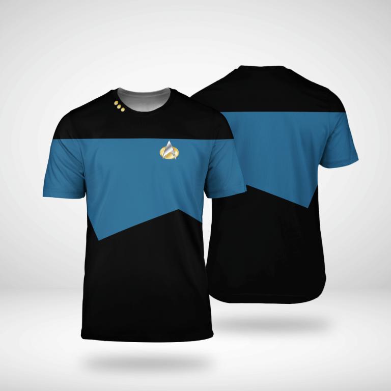 Star Trek science 3d shirt