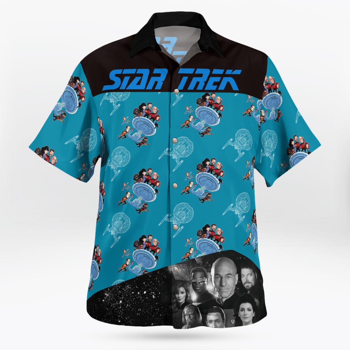 Star Trek science officer hawaiian shirt 3.1