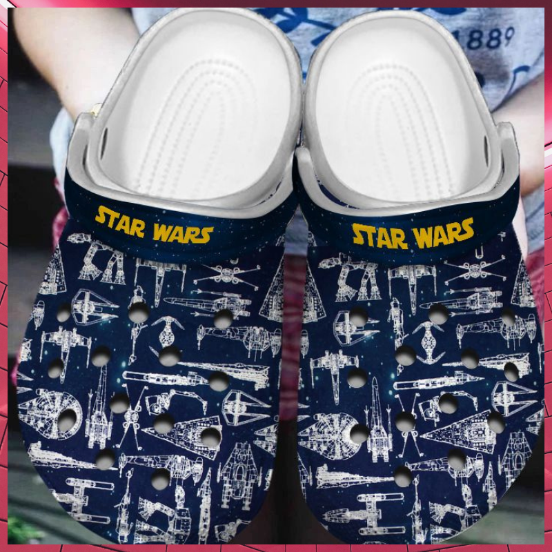 Star Wars Spaceship crocband clog shoes 1