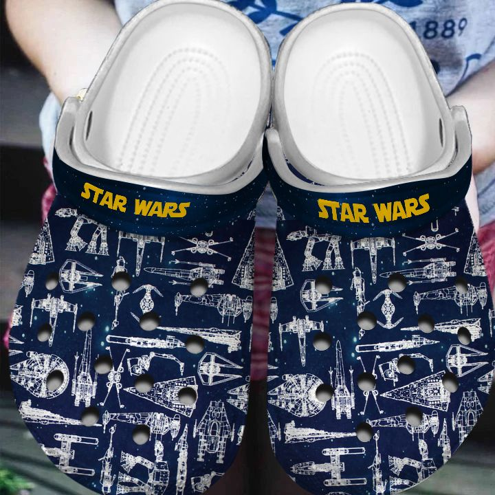 Star Wars Spaceship crocband clog shoes