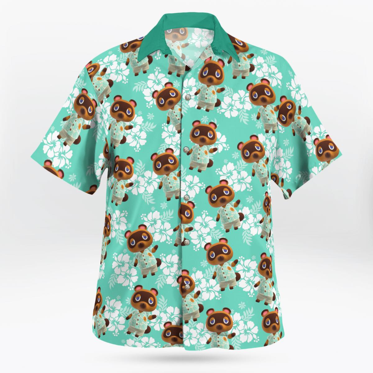 Tom Nook Hawaiian shirt 1