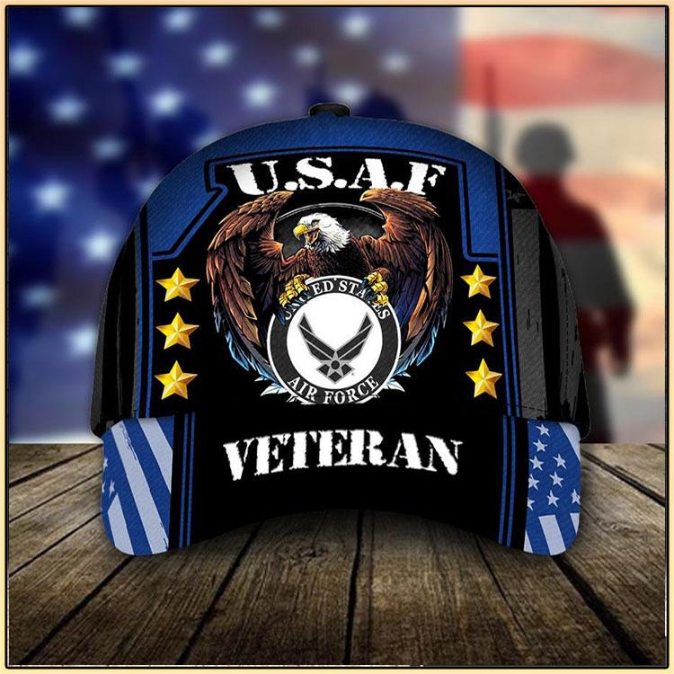 U.S.A.F United States Air Force Veteran Cap4