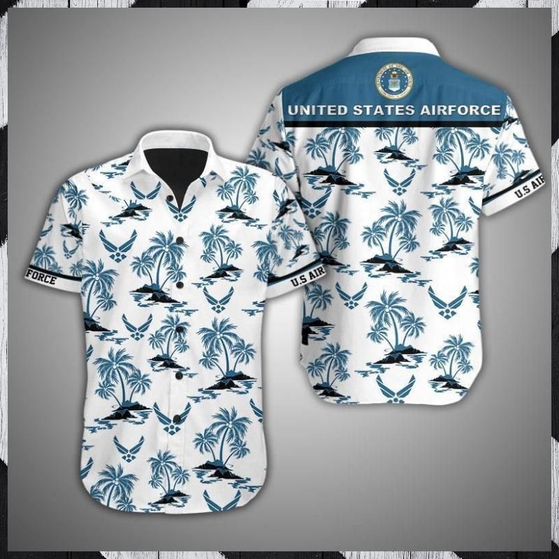 US Airforce Island Hawaiian shirt 1